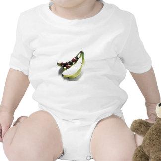 Fruit Cherries Bananas Dessert Destiny Gifts Baby Bodysuit