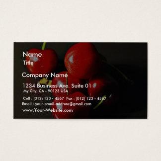 Fruit Cherries Cherry Business Card
