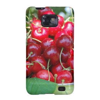 Fruit Cherries Sweet Dessert Destiny Gifts Samsung Galaxy SII Cases