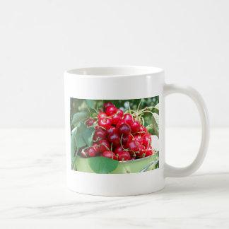 Fruit Cherries Sweet Dessert Destiny Gifts Classic White Coffee Mug