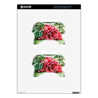 Fruit Cherries Sweet Dessert Destiny Gifts Xbox 360 Controller Skin