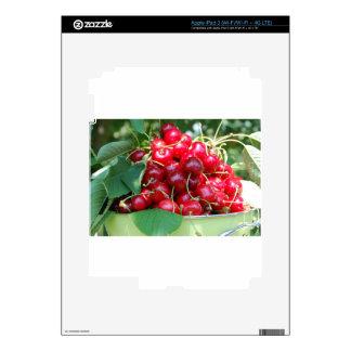 Fruit Cherries Sweet Dessert Destiny Gifts Skin For iPad 3