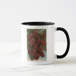 Fruit Chromo Lithograph of LoganberriesState Mug