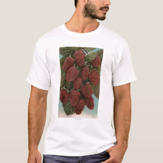 Fruit Chromo Lithograph of LoganberriesState T-Shirt