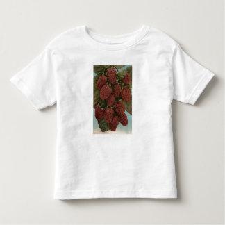 Fruit Chromo Lithograph of LoganberriesState Toddler T-shirt