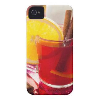 Fruit citrus tea with cinnamon and orange Case-Mate iPhone 4 case