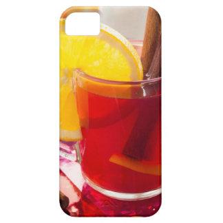 Fruit citrus tea with cinnamon and orange iPhone SE/5/5s case
