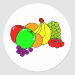 Fruit Classic Round Sticker