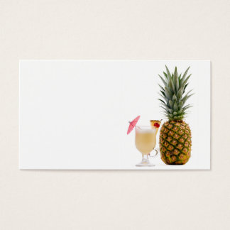Fruit cocktail business card