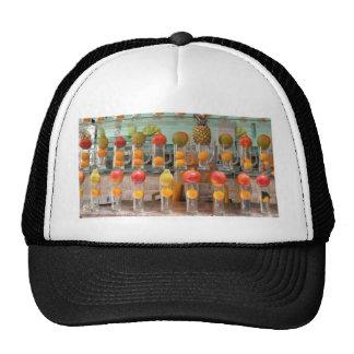 fruit cocktail trucker hat