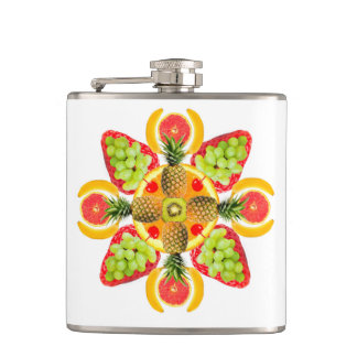 Fruit Cocktail Hip Flask