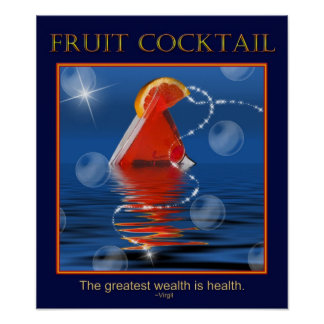 Fruit Cocktail Posters