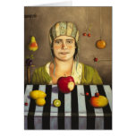 Fruit Collector Greeting Cards