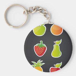 fruit design llaveros