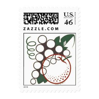 Fruit Design Postage