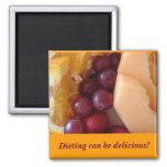fruit, Dieting can be delicious! Refrigerator Magnets