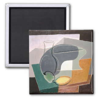 Fruit-dish and carafe, 1927 2 inch square magnet