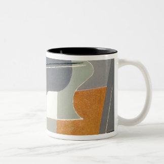 Fruit-dish and carafe, 1927 coffee mug