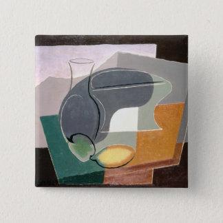 Fruit-dish and carafe, 1927 pinback button