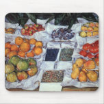 Fruit Displayed on a Stand Mousepad