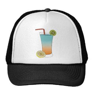 Fruit Drink Sweet Dessert Destiny Food Kiwi Lemon Trucker Hats