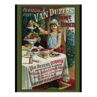 Fruit Extract Cooking Baking Postcard