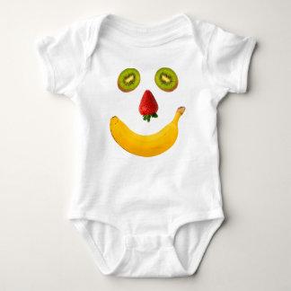 Fruit Face Baby Bodysuit