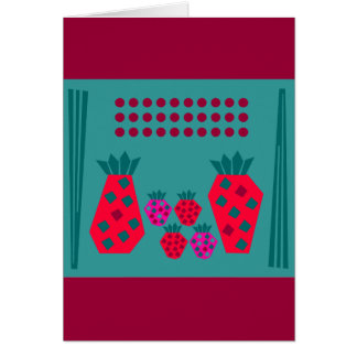 Fruit Family Card