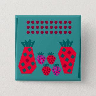 Fruit Family Pinback Button