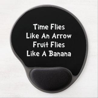 Fruit Flies Gel Mouse Pad