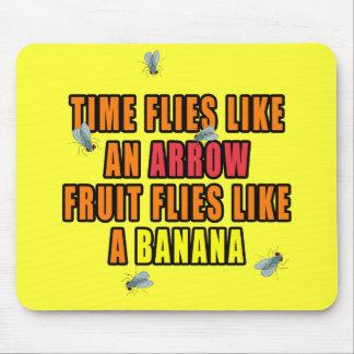 Fruit Flies Mouse Pad