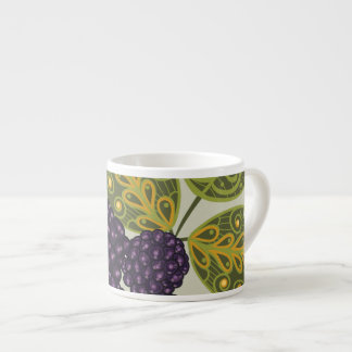 Fruit Flower Cool Cute Girly Retro Floral Espresso Cup