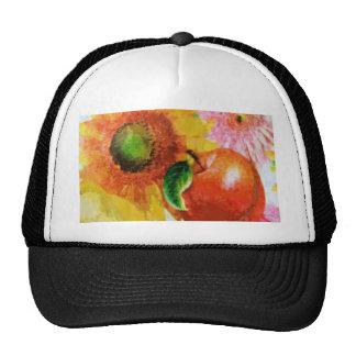 Fruit & flowers trucker hat