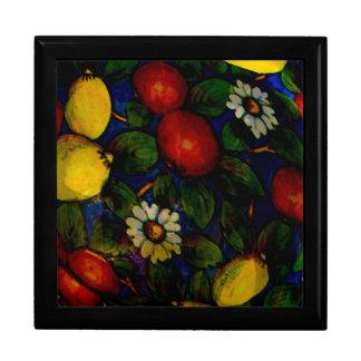 Fruit & Flowers Keepsake Box