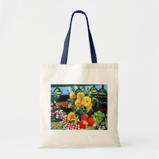 Fruit & Flowers Tote Bag