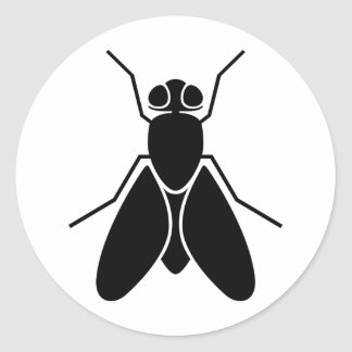 Fruit Fly Classic Round Sticker