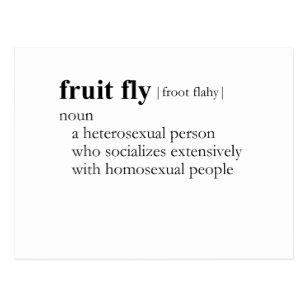 Bisexual fruit fly