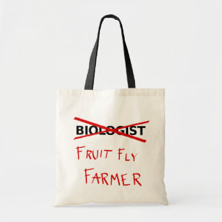 Fruit Fly Farmer Tote Bag