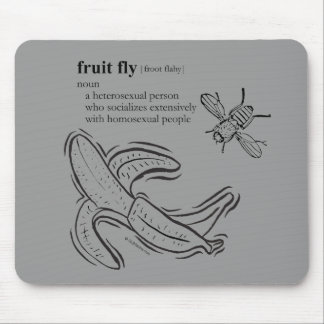 FRUIT FLY MOUSE PAD