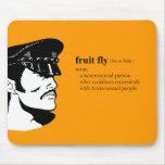 FRUIT FLY MOUSEPAD