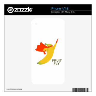 Fruit Fly Skin For iPhone 4