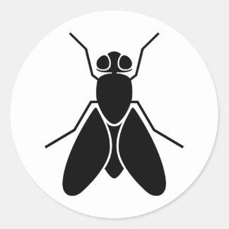 Fruit Fly Classic Round Sticker