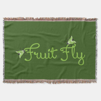 Fruit Fly Throw
