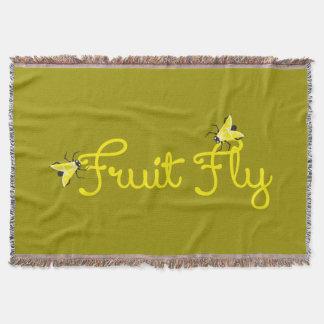 Fruit Fly Throw Blanket