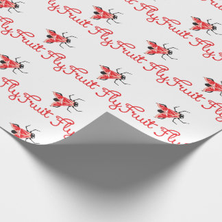 Fruit Fly Wrapping Paper