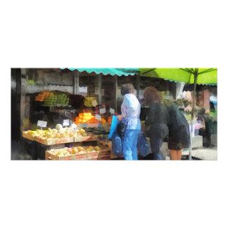 Fruit For Sale Hoboken NJ Rack Card