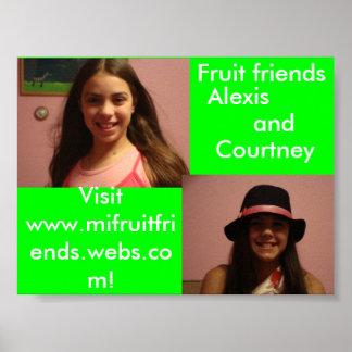 fruit friends , fruit friends  (6), Visit www.m... Poster