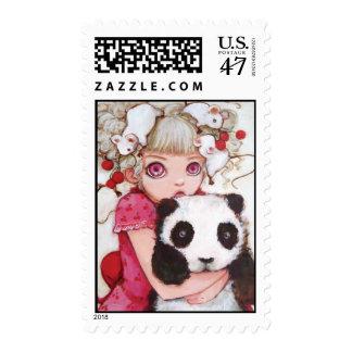 Fruit Fuzz Stamp