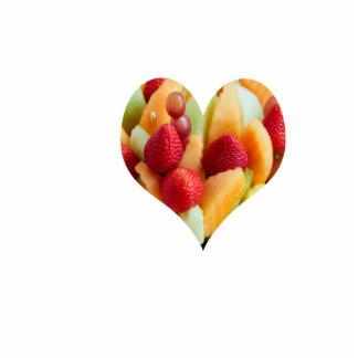 fruit heart, sculpture magnet