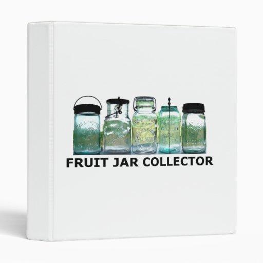 Fruit Jar Collector Antiques Vintage Mason Jars 3 Ring Binder